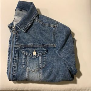 Hollister XL jean  jacket almost new